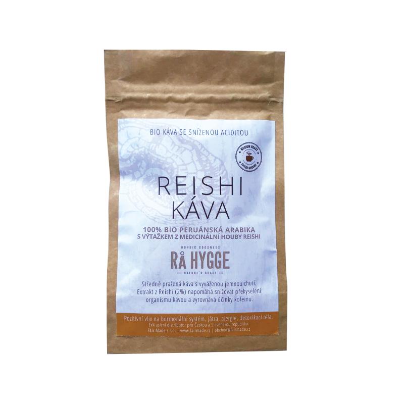 Vzoreček BIO mletá káva Peru Arabica REISHI + letáček